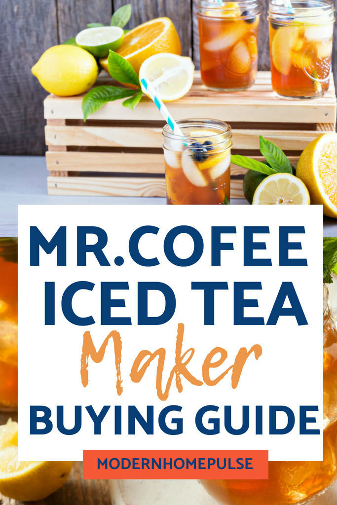 Use Mr. Coffee Iced Tea Making Machine For Quick & Easy ...
